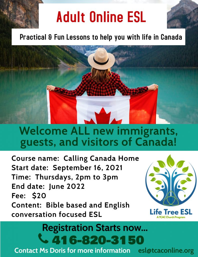 Calling Canada Home English Poster